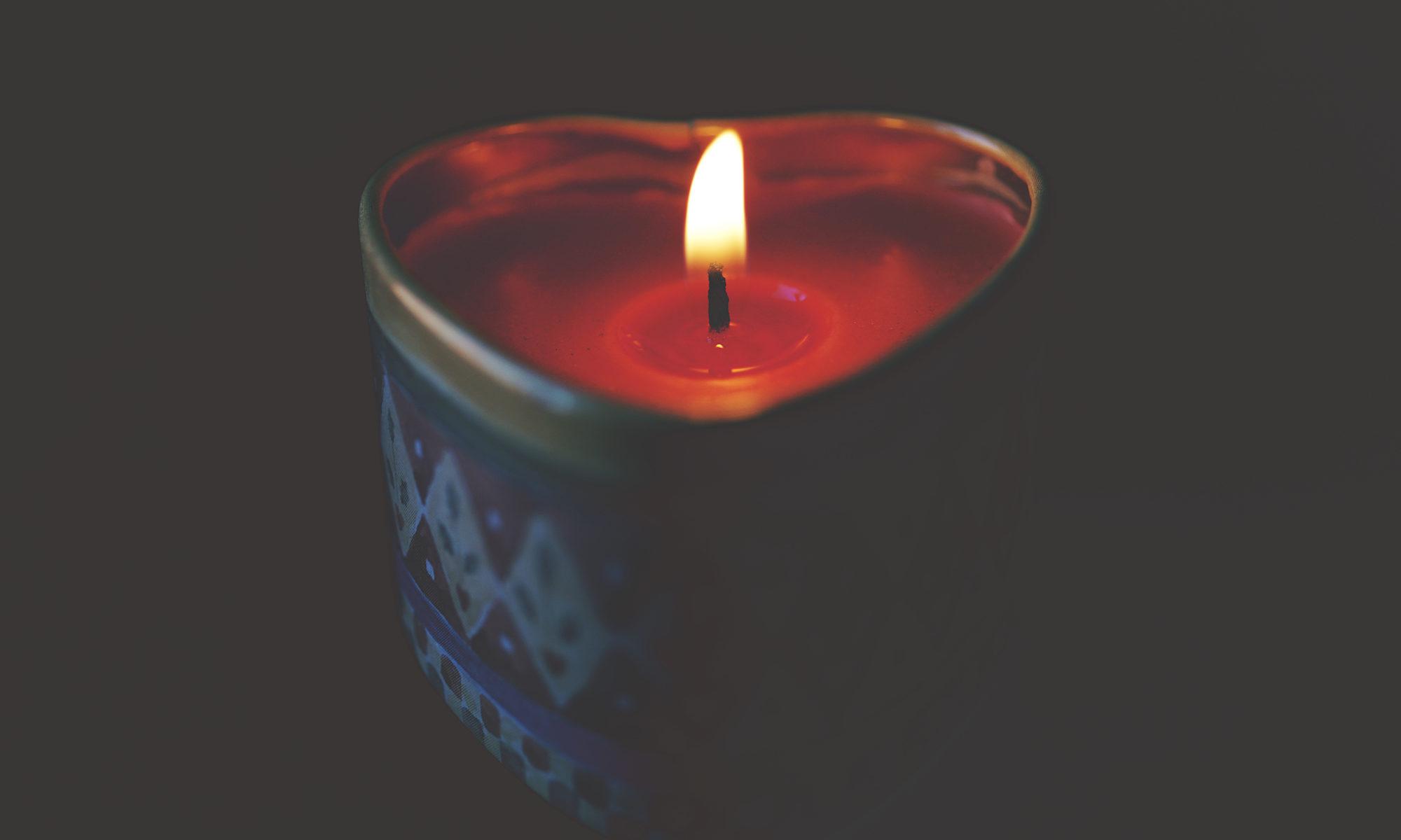 amore - fiamma - candela - cuore