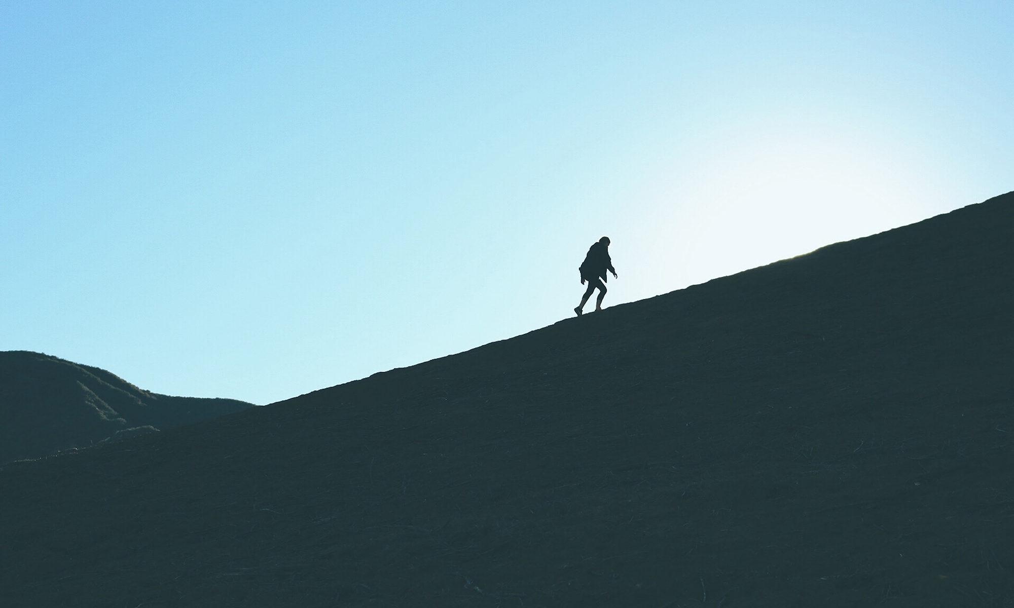 difficoltà - psicologia età adulta - percorso - montagna - salita - camminare - fatica
